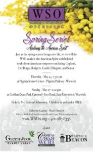 Warwick Symphony Orchestra Spring Series: Awakening the American Spirit @ Pilgrim Senior Center | Warwick | Rhode Island | United States