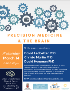 PRECISION MEDICINE & THE BRAIN @ Eddy Auditorium Biomed Center | Providence | Rhode Island | United States