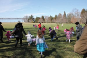 Easter Bunny Tea and Easter Egg Hunt @ Blithewold Mansion, Gardens and Arboretum | Bristol | Rhode Island | United States