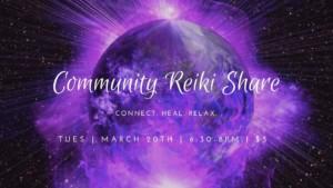 Community Reiki Share @ Thrive Tribe RI | East Providence | Rhode Island | United States