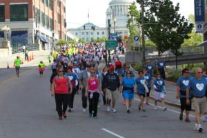 American Heart Association's Southern New England Heart Walk @ Station Park