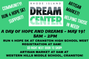 RI Dream Center 2018 A Day of Hope and Dreams Artisan Market @ Sharon Cogean
