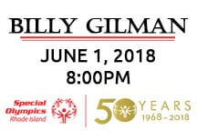 Special Olympics Rhode Island Opening Ceremonies Featuring Billy Gilman @ The Ryan Center
