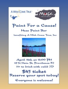 Paint for a Cause: A Wish Come True, Inc @ Muse Paintbar