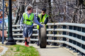 Downtown Woony Clean Days Kick-Off @ Woonasquatucket River Greenway