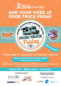Food Truck Friday at Carousel Village @ Roger Williams Park Carousel Village