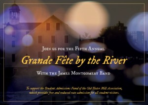 Grande Fete by the River feat. James Montgomery Band @ Slater Mill