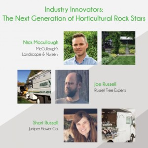 Industry Innovators: The Next Generation of Horticultural Rock Stars @ Blithewold Mansion, Gardens and Arboretum