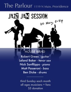 Parlour Jazz Jam: Green and Friends @ The Parlour