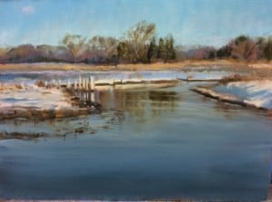 Twenty-one Months, 147 Miles, Painting the Bay @ Dryden Gallery