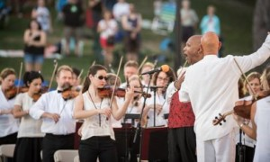 Rhode Island Foundation Presents RWP Pops with the RI Philharmonic Orchestra @ Roger Williams Park, Temple to Music