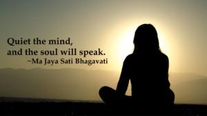 Mindful Meditation Night @ Thrive Tribe RI