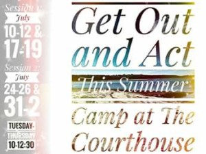 Summer Theater: Session 1 @ Courthouse Center for the Arts