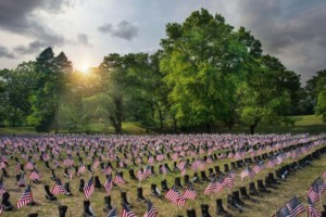Boots on the Ground for Heroes Memorial @ Roger Williams Park