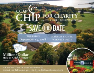 Fourth Annual CCAP Chip for Charity 9 Hole Golf Tournament and Million Dollar Hole-in-One Contest @ Harbor Lights