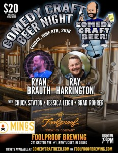 Comedy Craft Beer Night @ Foolproof Brewing Company
