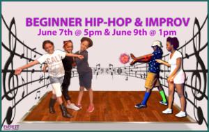 Beginner Hip Hop and Improv @ Everett Stage