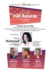 Trinity Rep's Pell Awards Gala @ WaterFire Arts Center