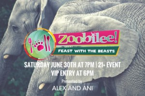 Zoobilee! Feast with the Beasts @ Roger Williams Park Zoo