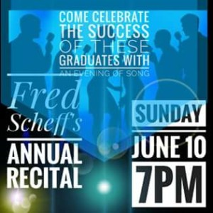 Fred Scheff's Annual Recital @ Courthouse Center for the Arts
