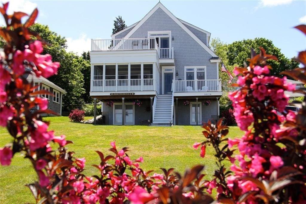 Prudence Island home