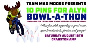 Ten Pins for ALYN Bowl-A-Thon @ Cranston Lanes AMF