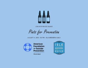 Pints for Prevention @ Isle Brewers Guild