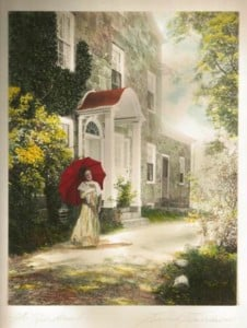 Color and Light: Early Twentieth Century Hand-Painted Photographs of Hearthside @ Hearthside House Museum