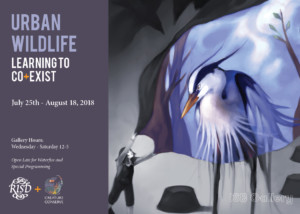 Urban Wildlife: Learning to Co-Exist @ ISB Gallery