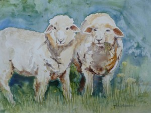 Watercolor Workshop @ Watson Farm