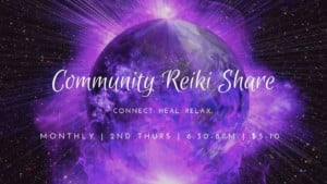 Community Reiki Share @ Thrive Tribe RI