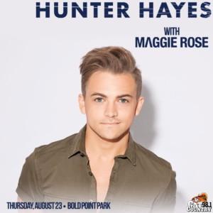 Hunter Hayes @ Bold Point Park