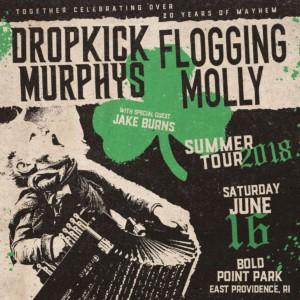 Dropkick Murphys and Flogging Molly @ Bold Point Park