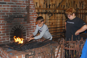 Blacksmithing Workshop for Kids @ South County Museum
