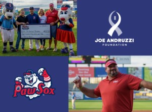 Joe Andruzzi Foundation at the PawSox @ McCoy Stadium