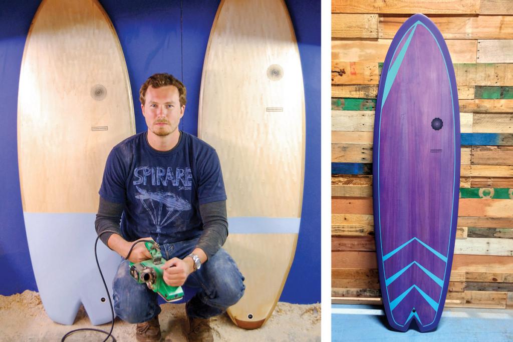 Kevin Cunningham, spirare surfboards