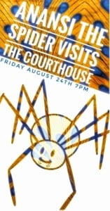 Anasi the Spider Visits the Courthouse @ Courthouse Center for the Arts | South Kingstown | Rhode Island | United States