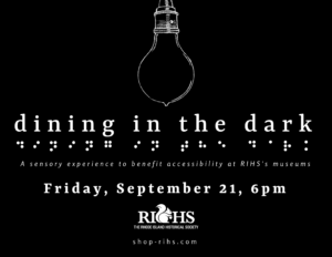 Dining in the Dark: A Sensory Experience to Benefit Accessibility @ Savini's Pomodoro Restaurant | Woonsocket | Rhode Island | United States