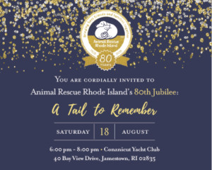 "Animal Rescue Rhode Island Eightieth Jubilee ""A Tail to Remember"" @ Conanicut Yacht Club 
