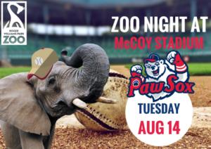 Zoo Night at McCoy Stadium @ McCoy Stadium | Pawtucket | Rhode Island | United States