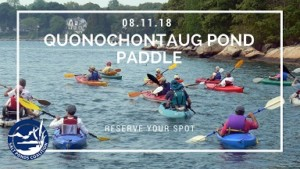 Salt Pond Paddle: Quonochontaug Pond @ Quonochontaug Pond | Charlestown | Rhode Island | United States