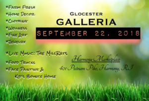 First annual Glocester Galleria @ Harmony marketplace | Glocester | Rhode Island | United States