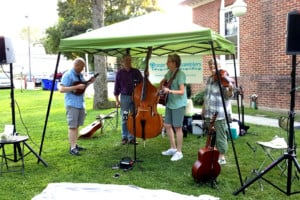 Ocean State Ramblers return to the Weaver Library Farmers Market @ East Providence Public Library/Weaver | East Providence | Rhode Island | United States