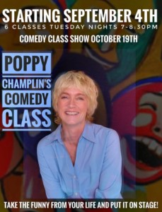 Poppy Champlin's Comedy Class @ Courthouse Center for the Arts | South Kingstown | Rhode Island | United States