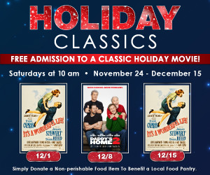 Give back this holiday season with Showcase Cinemas Holiday Classics series @ Showcase Cinema Warwick | East Greenwich | Rhode Island | United States
