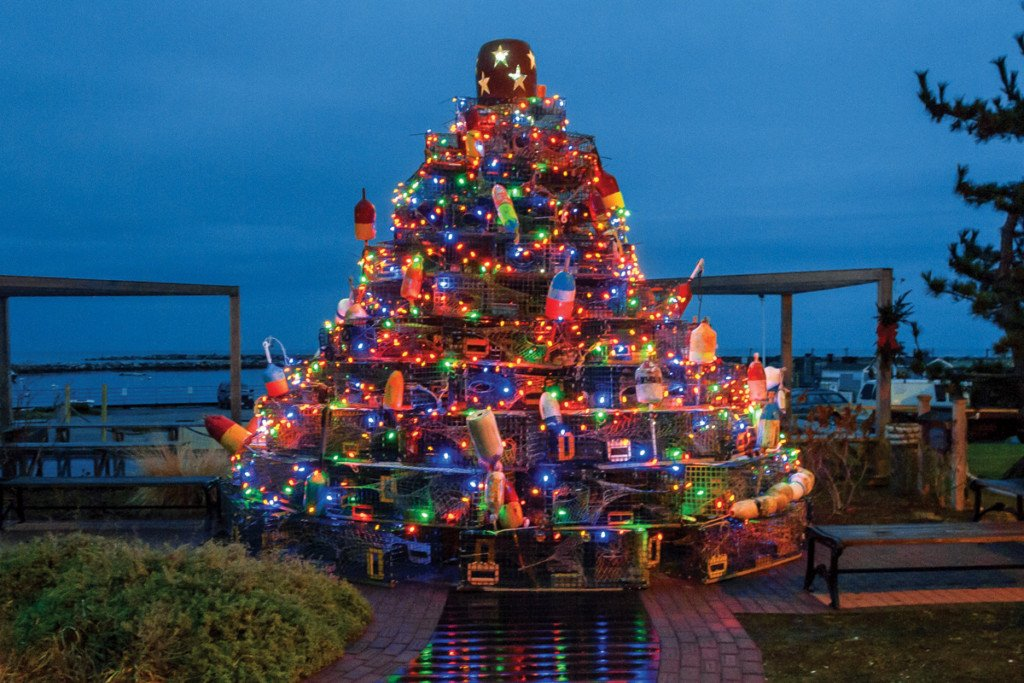 Island Christmas Tree.Sail Away To Block Island This Black Friday Rhode Island