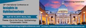 Twenty-Eighth International Conference on Insights in Ophthalmology @ Holiday Inn Rome Aurelia | Roma | Lazio | Italy