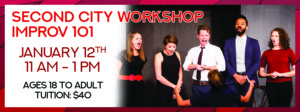 Improv 101 Workshop with The Second City @ Stadium Theatre Performing Arts Centre | Woonsocket | Rhode Island | United States