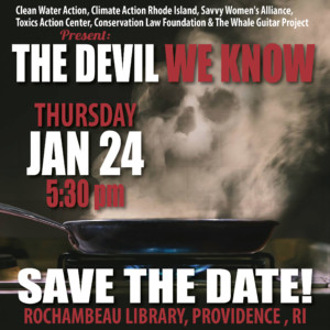 Eco Groups unite to bring 'the Devil We Know' to Providence @ Rochambeau Library | Providence | Rhode Island | United States