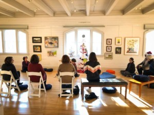 Mindfulness Meditation at the Museum: ​Making Space for Art @ The Bristol Art Museum | Bristol | Rhode Island | United States